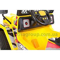 Двомістний дитячий електромобіль джип Passable, фото 2