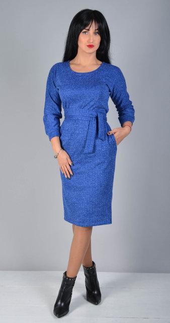 Теплое женское платье из ангоры (5 цветов)