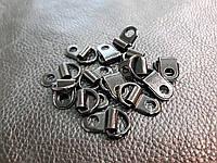 Петля для шнурков Италия цвет черный 342/87k