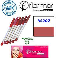 Карандаш для губ Flormar №202