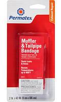 Бандаж для ремонта глушителя и выхлопной трубы Permatex® Muffler & Tailpipe Bandage