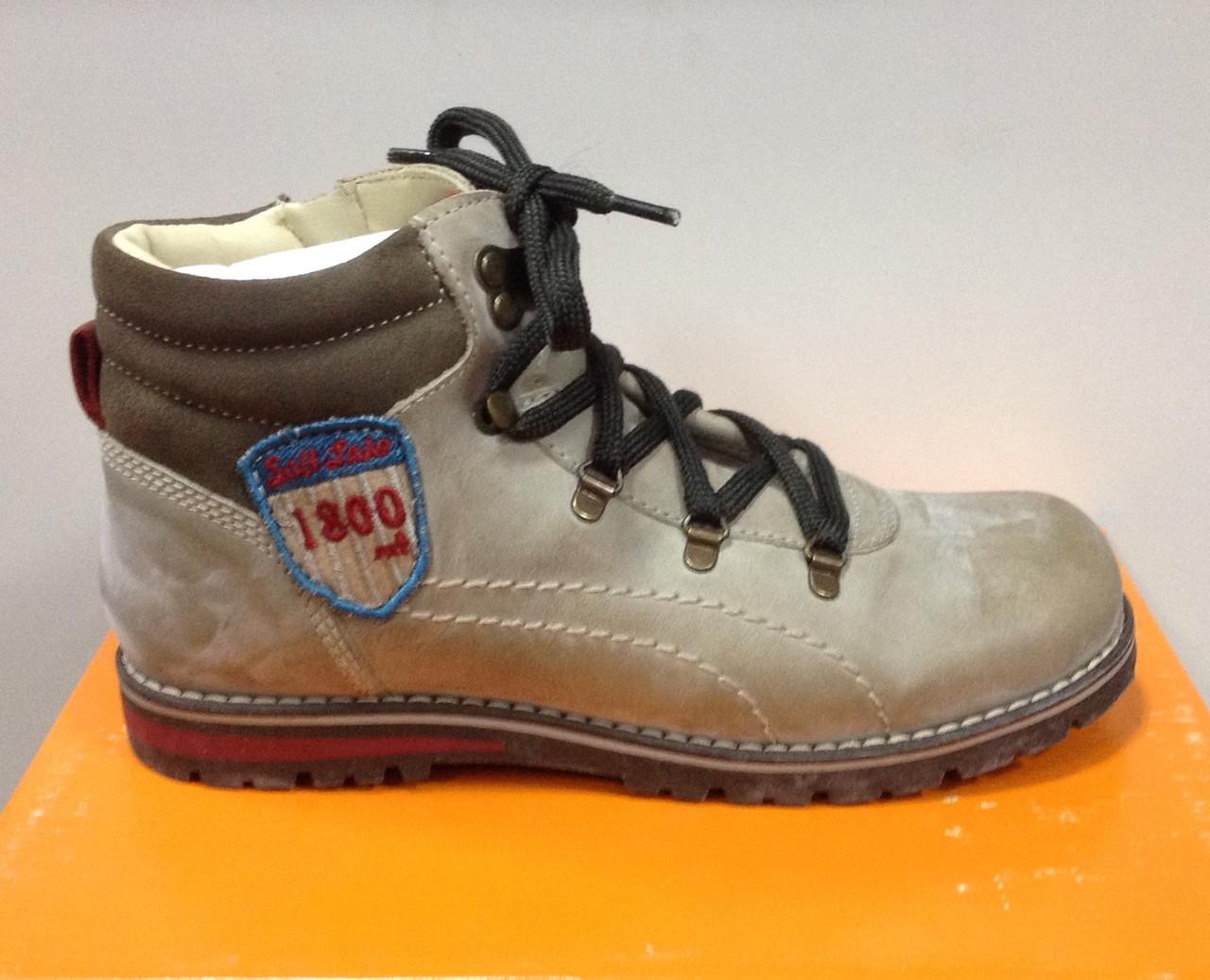 Ботинки для мальчика кожаные СHICCO р.33 CARDELINO