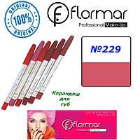 Карандаш для губ Flormar №229