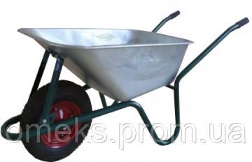 Тачка строительная одноколесная WERK WB0851, объем вода/песок 85/170 л, груз/п 160 кг BPS