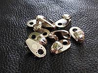 Крючок для шнурков металл Италия цвет серебро 05172/01