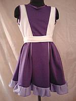 Трикотажное платье на 5 - 6 лет