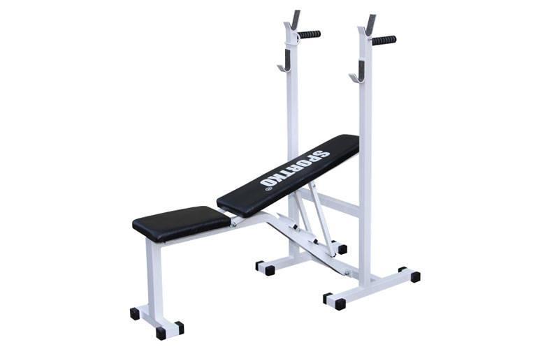 Скамья атлетическая SPORTKO TR-4297 СП2 (металл,PVC, р-р 120x62x118см ,вес польз. до 100кг)