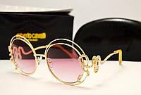 Женские солнцезащитные очки Roberto Cavalli 1024 Lux (розовый цвет)