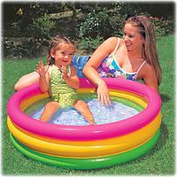 Бассейн детский круглый надувной Intex 58924