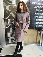 Женское демисезонное пальто, рукав - реглан, большие размеры