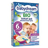 """Babydream  Bio Schlaf Gut Milchbrei Hafer Apfel - Овсяная каша с  яблоками """"Спокойной Ночи"""" с 6-го месяца 250г"""