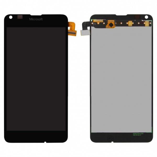 Дисплей (екран) для Microsoft (Nokia) 640 Lumia (RM-1077) з сенсором (тачскріном) черный