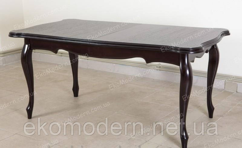 Стол деревянный обеденный РИЧМОНД+ для дома, кафе и ресторана (160х90 см)