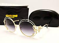 Женские солнцезащитные очки Roberto Cavalli 1024 Lux (серый градиент)