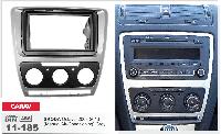 Переходная рамка CARAV 11-185 2 DIN (Skoda Octavia A5)