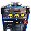 Инверторный полуавтомат Искра Профи Cobalt MIG 340 DC, сварочный полуавтомат 2 в 1 MIG/MAG MMA, сварка миг маг, фото 3