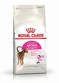 Для котов и кошек привередливых к аромату Royal Canin Exigent Aromatic, 400 г, роял канин