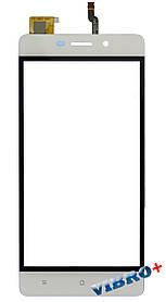 Тачскрин (сенсор) S-TELL M477 ORIG, white (белый)