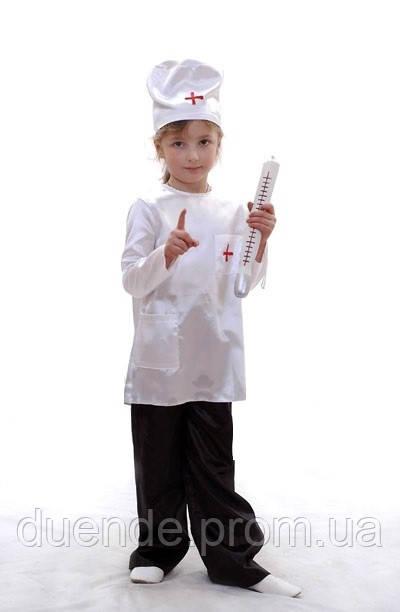 Новорічний Доктор Айболить карнавальний костюм для хлопчика / BL - ДС82