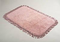 Коврик для ванной 50х80 Irya - Axis pembe розовый