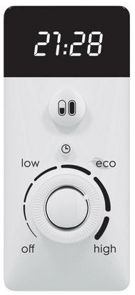 панель управления и LED дисплей водонагревателя Electrolux EWH 50 Centurio IQ