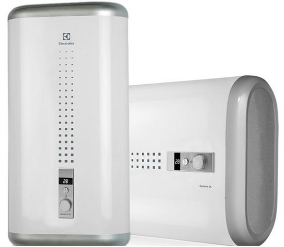 возможность установки водонагревателя как в вертикальном так и горизонтальном положении