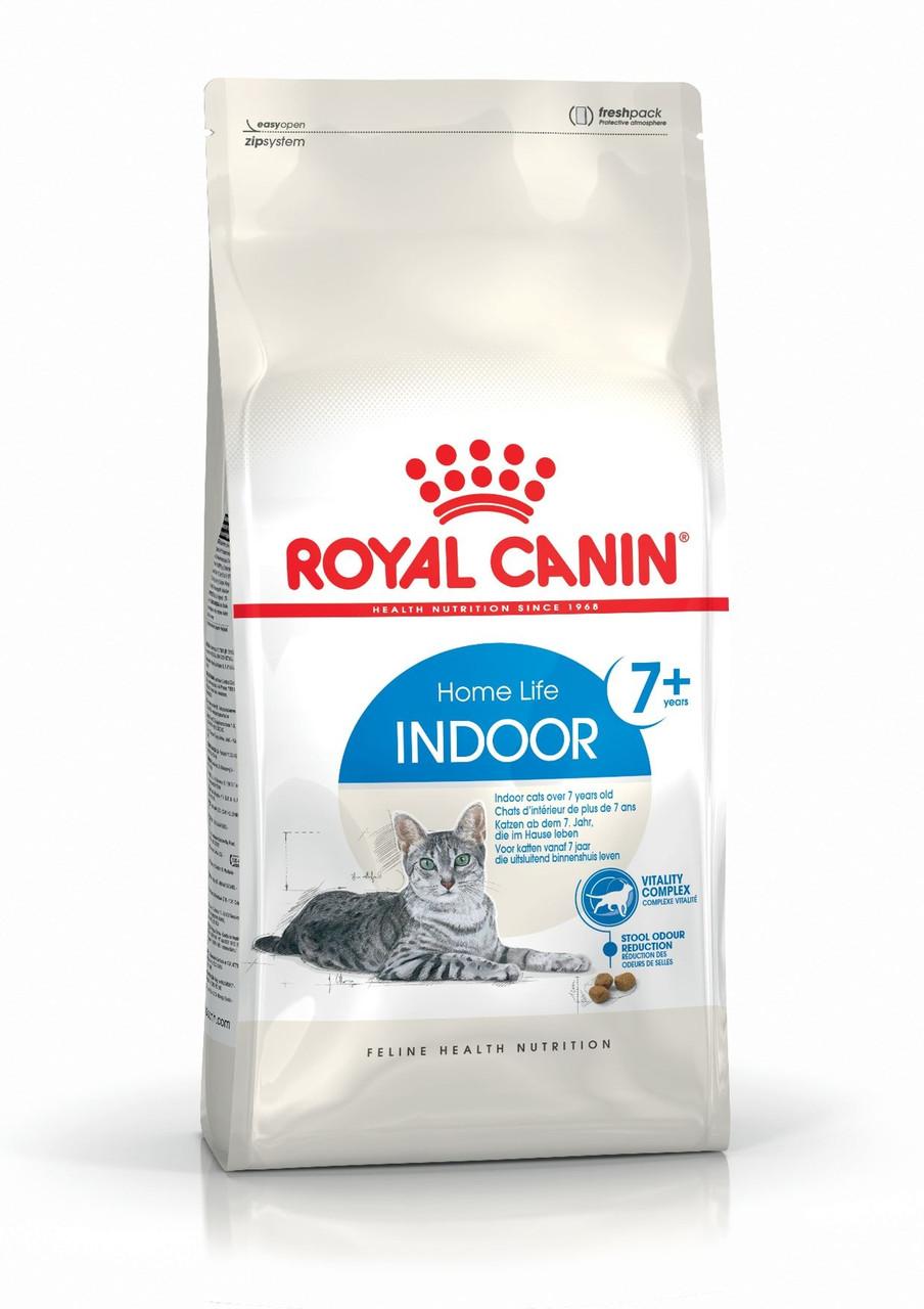 Для котов и кошек от 7 до 12 лет Royal Canin Indoor 7+, 1,5 кг, роял канин