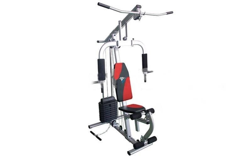Фитнес-станция HG3044D Home Gym (мет,р-р 130x117x207см,вес польз.до 100кг,вес плит 150LB)