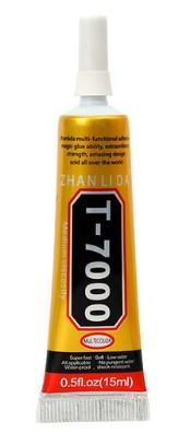 Клей T-7000 герметик чорний для ремонту дисплеїв сенсорів 15мл