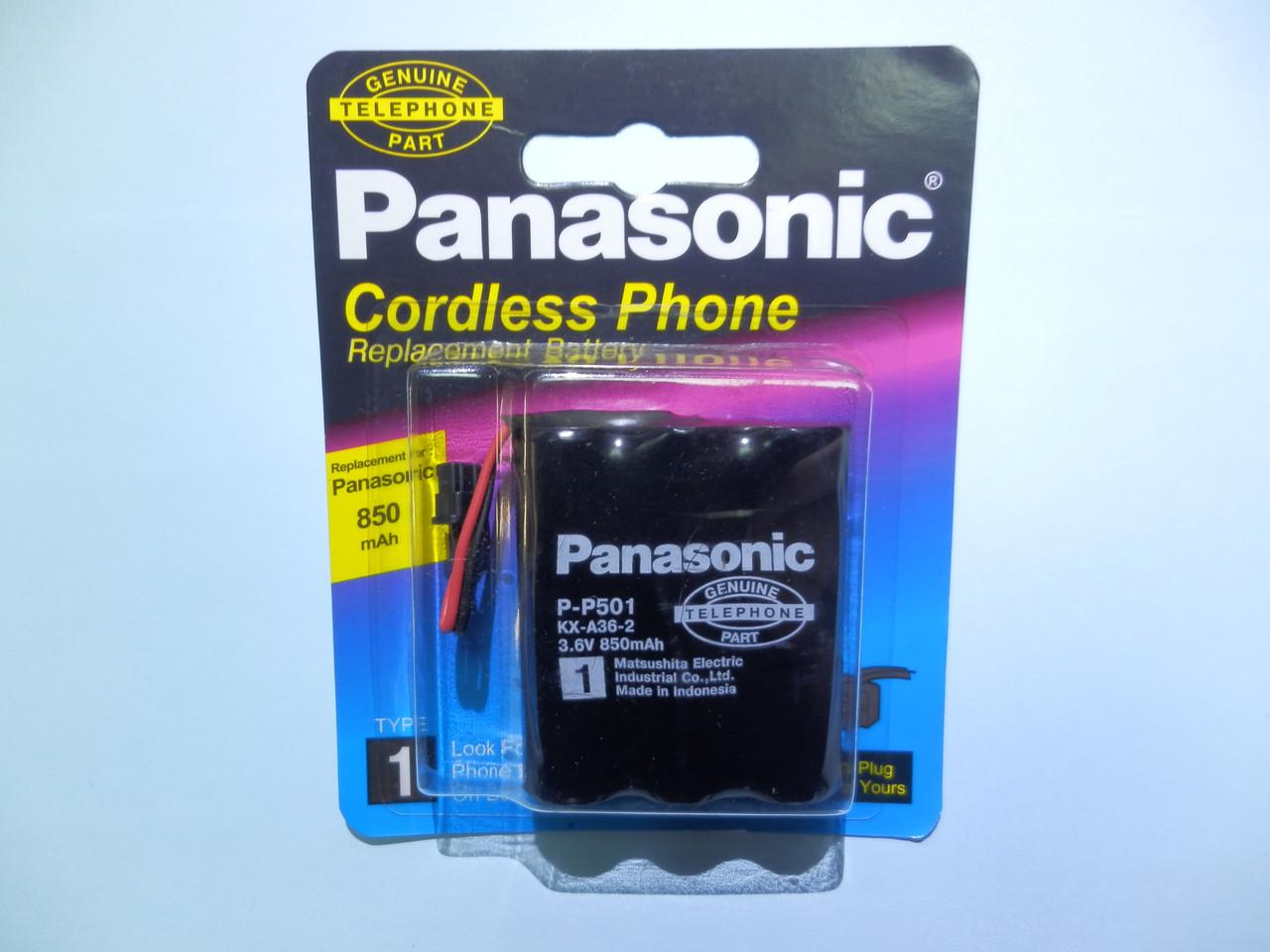 Аккумулятор к стационарному телефону Panasonic P-P501  ( KX-A36 3,6v 850mAh ) (TYPE 1)