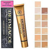 Тональный крем DERMACOL MAKE-UP COVER с высоким маскирующим свойством