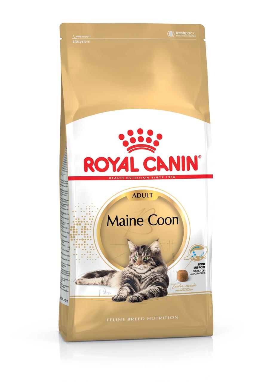 Для котов и кошек породы мейн кун старше 15 месяцев Royal Canin Maine coon, 10 кг
