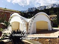Арочные шатры в Крыму, аренда, производство
