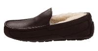 "Мокасины УГГИ мужские зимние UGG Ascot Leather ""Brown"" Арт. 1058"