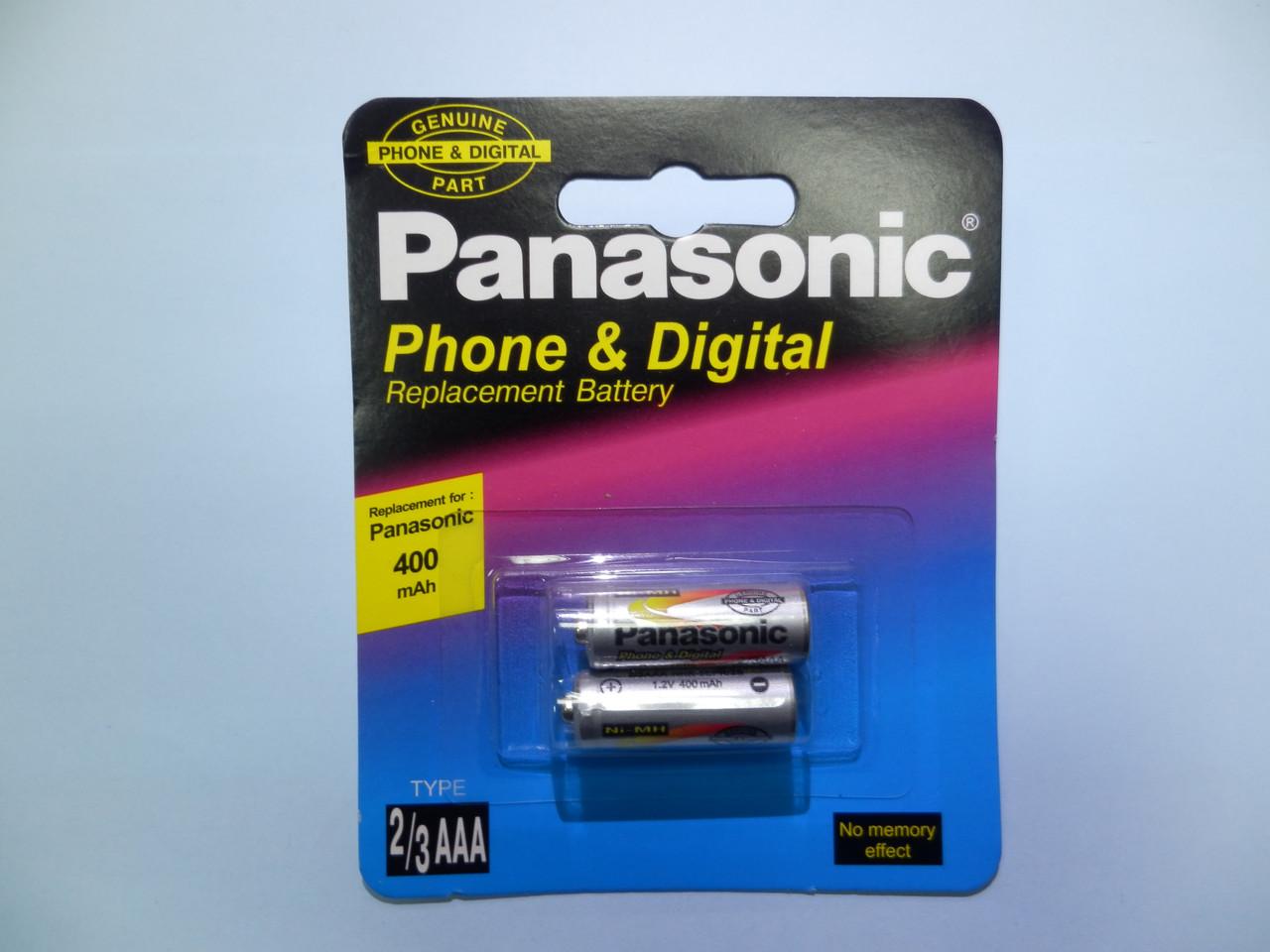 Аккумулятор к стационарному телефону Panasonic HHR-5EPR  ( 1,2v 400mAh ) (TYPE 2/3AAA)