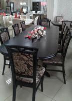 Стол раскладной Престиж венге 280х100х76 см обеденный деревянный