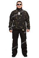 "Куртка тактическая ,Softsell Mil-tec (Германия) Mandrake black ""XL"" 56-58"