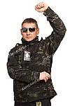 """Ветровка Soft shell """"Mil-tec""""Германия """"Mandrake black"""", фото 4"""