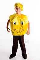 Колобок карнавальный костюм для мальчика