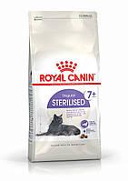 Корм для стерилизованных кошек и кастрированных котов старше 7 лет Royal Canin Sterilised 7+, 400 г