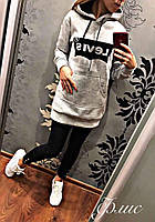 Женский батник на флисе новинка 2017