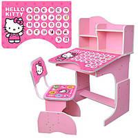 Детская парта растишка HB 2071M02-02 Hello Kitty