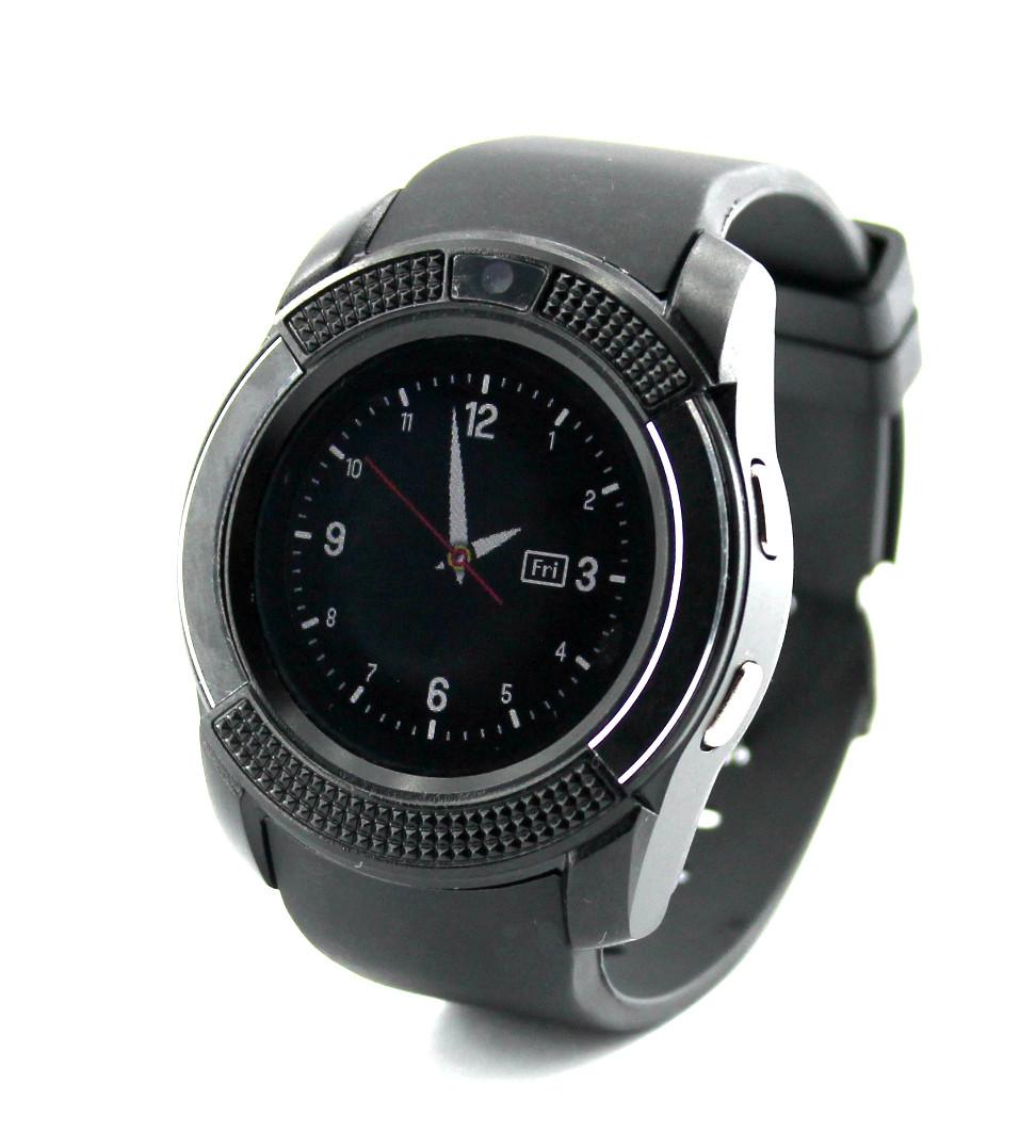Розумні годинник Smart watch Tiroki V8 чорні