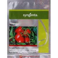 Насіння томату Чибли F1 (Syngenta 2500сем — середньо-стиглий, черв, детермінантний, кубовидно-овал