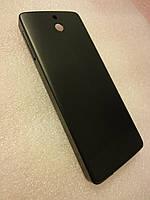 Задняя металлическая крышка батареи для телефона Nokia 515 черная заводской оригинал - 02504V6