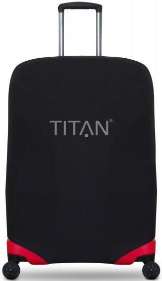Чехол текстильный для большого чемодана L Titan ACCESSORIES Ti825304-01, черный
