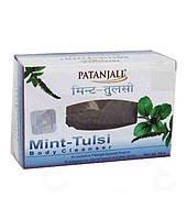 Мыло аюрведическое Мята Тулси Патанджали / Mint- Tulsi, Patanjali / 75 г