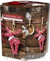 Ароматическая свеча в сосуде рождественский подарок