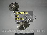 Вал промежуточный КПП ГАЗ 3302 5-ст. без подш. (блок шестерен)
