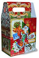 Картонная упаковка для новогодних подарков 2018